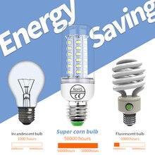 CanLing E14 LED Lamp E27 Led Bulb Corn Light 220V Lampada 5730 SMD 2835 Bombillas 3W Ampoule 20W Chandelier Home Lighting