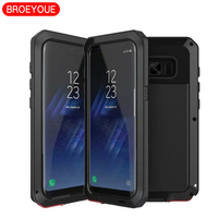 BROEYOUE Case For Samsung Galaxy S8 S7 S6 S5 S4 Edge Plus Note 3 4 5
