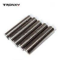 Tronxy 3D imprimante extrudeuse M6 * 25mm tuyau à vis 5 pcs/lot téflon gorge impressora 3d prusa i3 pièces ventilateur 1.75mm filament