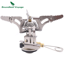 Boundless Voyage Outdoor Camping Gas Stove Portable Picnic Foldable Cooker BV1003