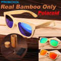 100% Real Natural Bamboo Wood Wooden Mirrored Mirror Sunglasses Polarized Mens Women Sunglass Men Gafas Oculos De Sol Madera Top