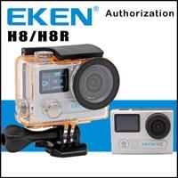 Action Camera EKEN H8 /H8R Ultra HD 4K 30FPS WiFi 2.0 170D Dual Lens Helmet Bike Mini Cam Underwater Waterproof Sport Camera