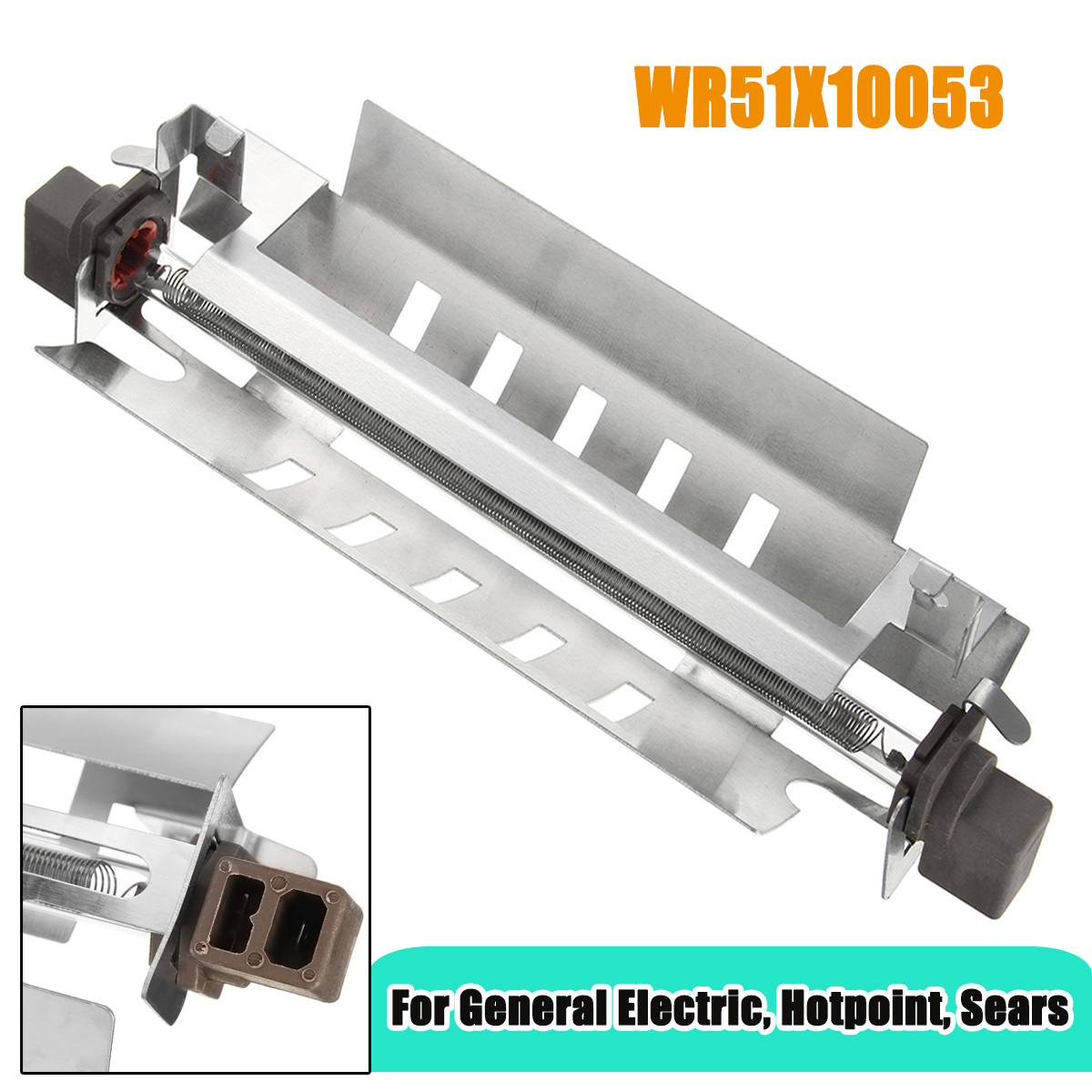 WR51X10053  Refrigerator Defrost Heater replaces GE  Hotpoint