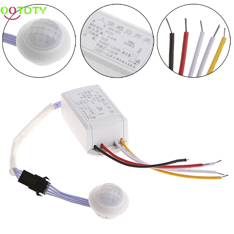 12V IR Infrared Module Body Sensor Intelligent Light Motion Sensing Switch 828 Promotion
