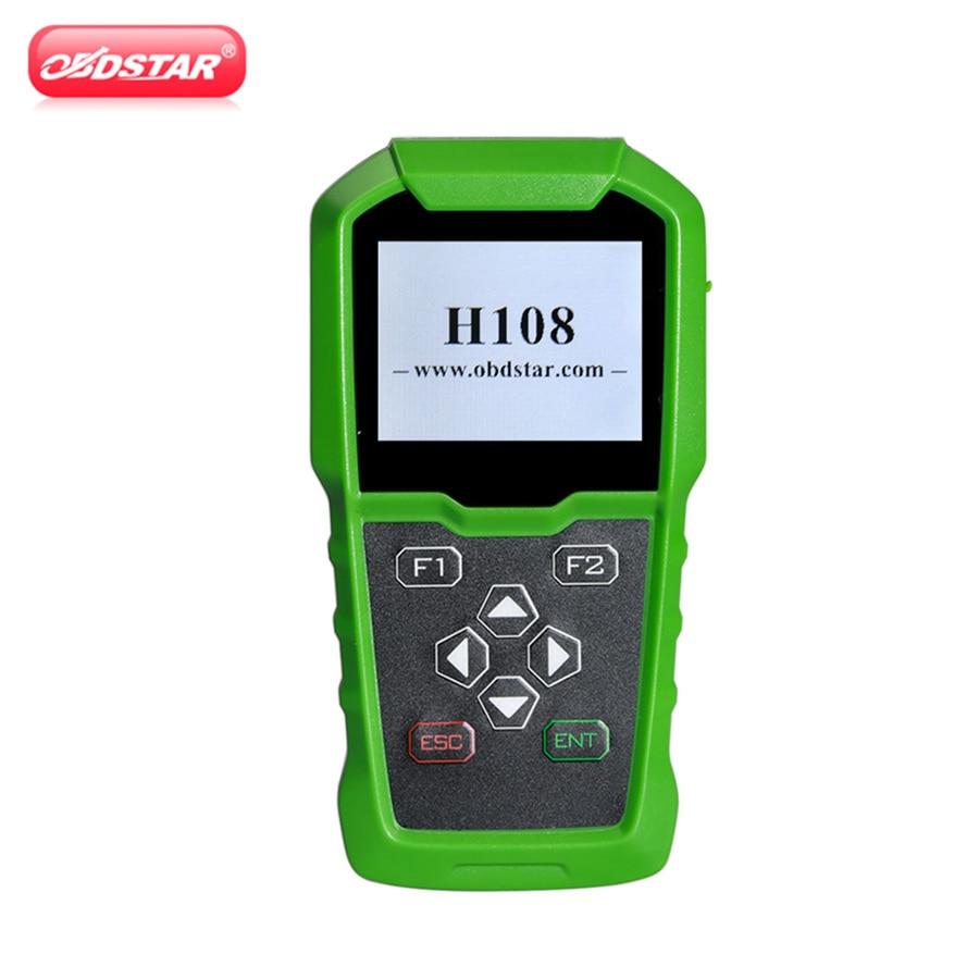 OBDSTAR H108 PSA Programador Suporte Todos Chave Perdida/Código Pin Leitura/Cluster Calibrar para Peugeot/Citroen/ DS Suporta Can & K-linha