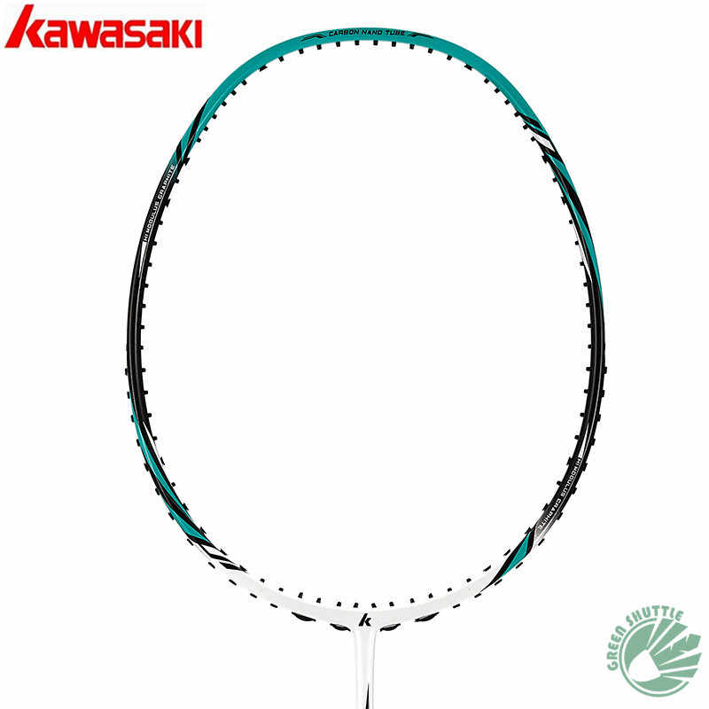 2018 New Genuine Kawasaki Full New Half-star Badminton Racket  With Free Gift Raquet