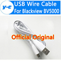Blackview BV5000 USB Cable High Quality 100% Official Original 80CM Micro USB Cable Charger Wire For Blackview BV5000 SmartPhone
