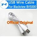 Blackview bv5000 cabo usb de alta qualidade 100% original oficial 80 cm fio do carregador cabo micro usb para smartphones blackview bv5000