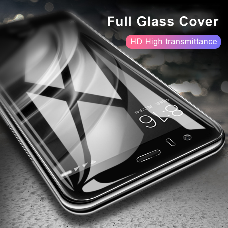 BXE Full Cover Tempered Glass On The For Xiaomi Redmi Note 5 Pro Plus Screen Protector For Redmi Note5 Pro Protective Glass Film in Phone Screen Protectors from Cellphones Telecommunications
