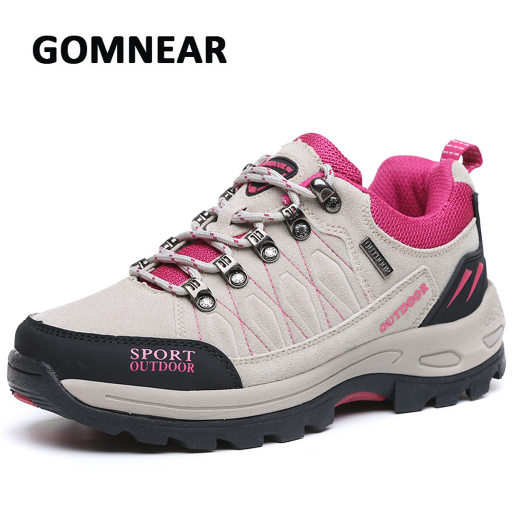 Women Hiking Shoes Outdoor Camping Climbing Trekking Shoes Breathable Antiskid Damping Brand Walking Sports Sneakers outdoor hiking shoes men women camping sneakers breathable outdoor sports sneakers walking trekking sneakers for couples lovers