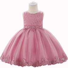 Girls Evening Dresses Summer Childrens Wear Clothing Elegant Princess Dress Flower Girl Wedding