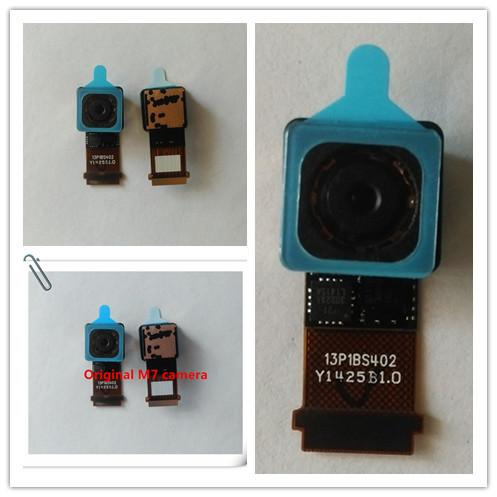 Original novo principal voltar câmera traseira módulo de peças de reparo do cabo flex para htc one m7