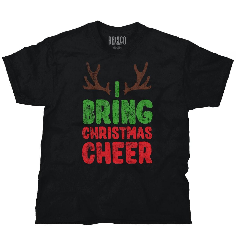 Принести развеселить олень уродливые Рождественский свитер смешной подарок идеи Футболка Модные короткий рукав продажа 100% хлопок