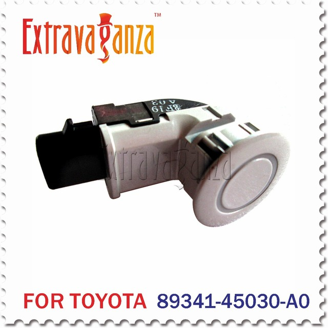 Auto Parts 89341-45030-A0  Parking Sensor For Toyota Sienna 3.5L GSL20 GSL25 8934145030 Pearl White