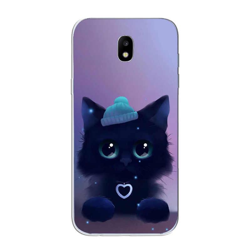 Ciciber Dành Cho Samsung Galaxy Samsung Galaxy J 5 2 3 4 1 6 7 8 Pro Core Prime Mini Plus 2016 2017 2018 TPU Ốp Điện Thoại Dễ Thương Mèo Con Mèo Fundas