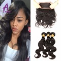 360 Lace Frontal Closure 7A Peruvian Body Wave Pre Plucked Frontal Natural Hairline 360 Lace Virgin Hair Frontals With Baby Hair
