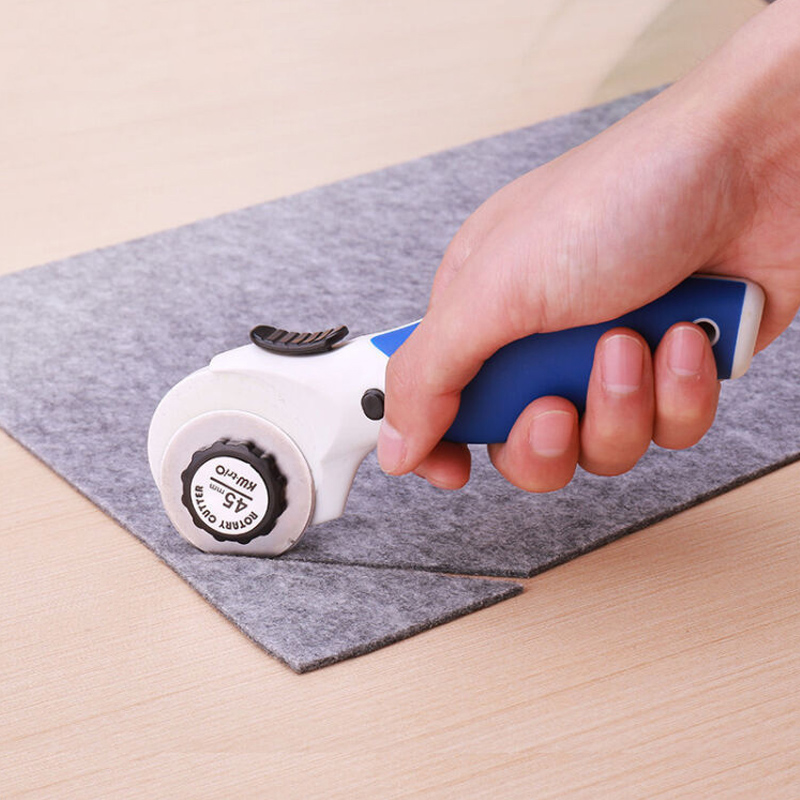 28mm/45mm Leather Rotary Cutter For Fabric Cutting Craft Knife Paper Cutter Cutting Tools Office Stationery