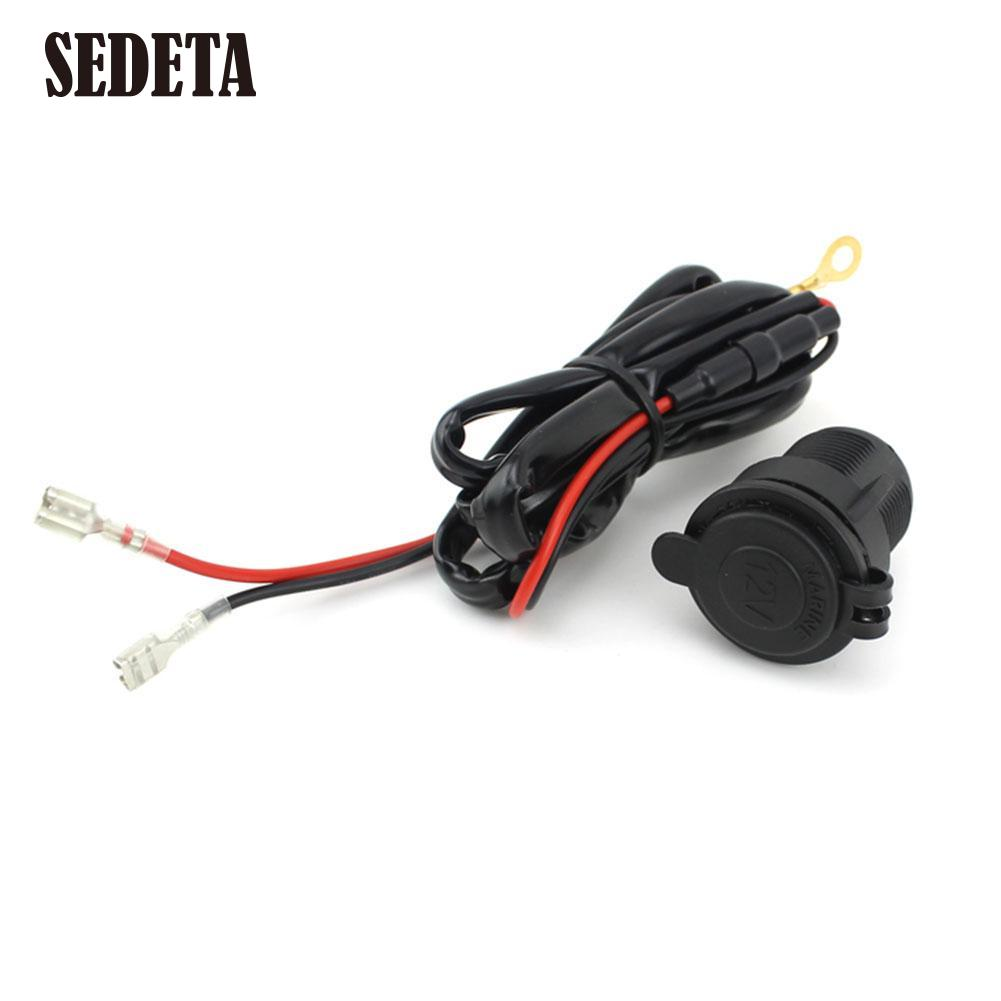popular car cigarette lighter wiring buy cheap car cigarette 12v waterproof car auto motorcycle cigarette lighter power socket outlet wire mainland