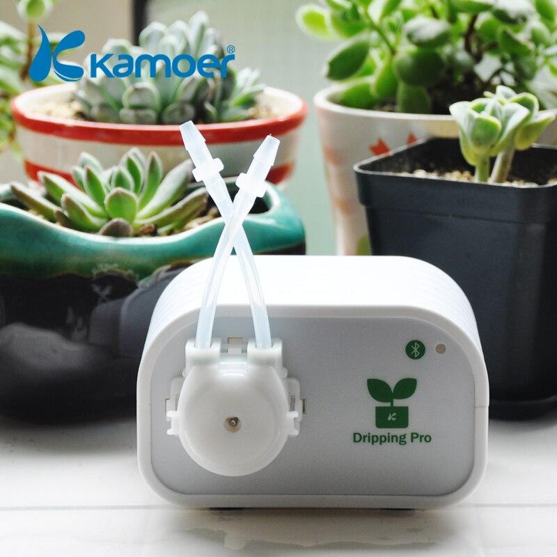 Kamoer автоматического полива растений устройства через соединение bluetooth для цветка или сочные DIY авто микро капельного орошения Системы