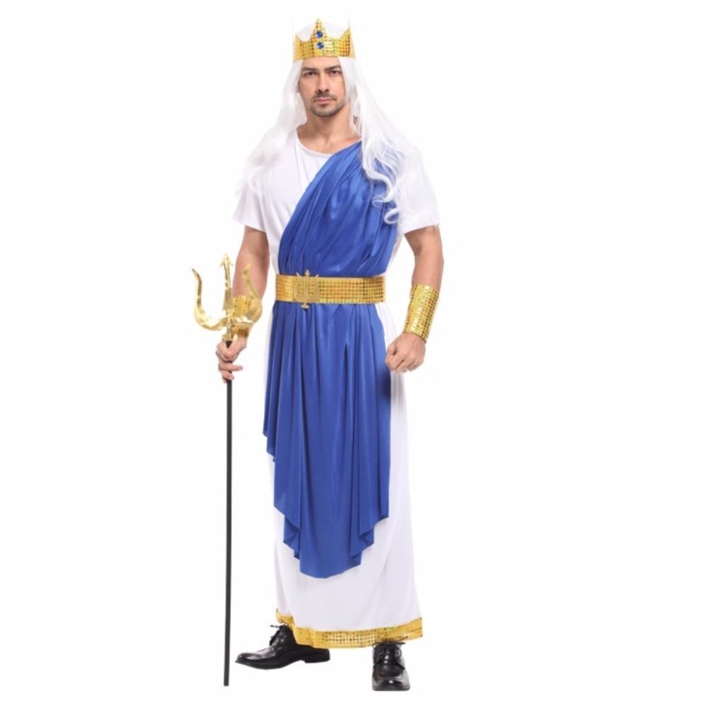 shanghai story men's halloween cosplay costume ancient greek