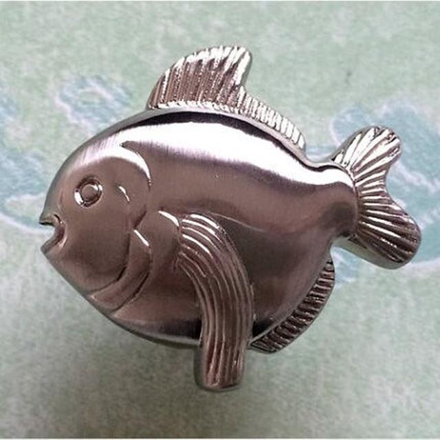 Fish Drawer Pull Dresser Knobs Kitchen Cabinet Door Knob Pulls ...