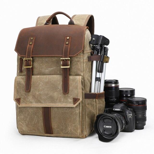 กันน้ำ Batik กล้อง Photo กระเป๋ากลางแจ้งขนาดใหญ่กระเป๋าเป้สะพายหลังดิจิตอล SLR กระเป๋าขาตั้งกล้อง