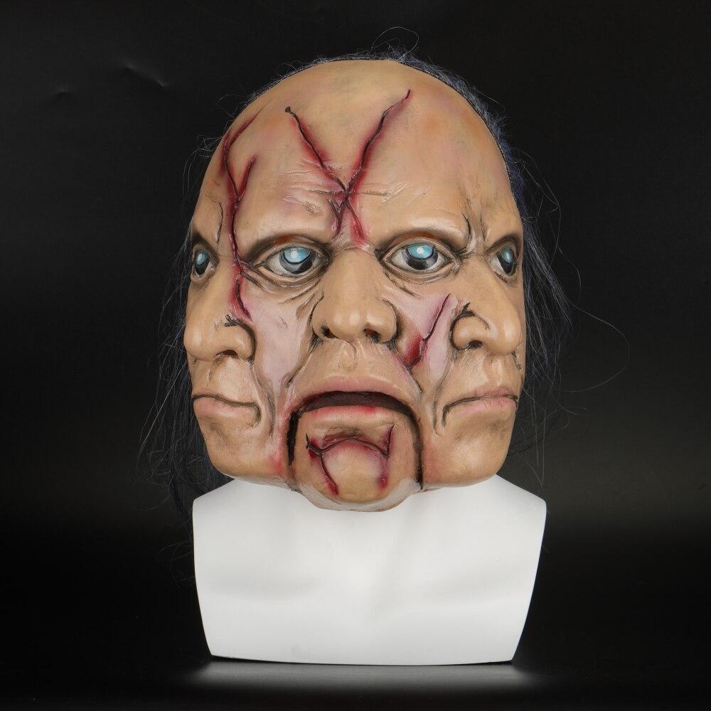 Full Face Hockey Mask Fancy Dress Halloween Party Prank Accessory