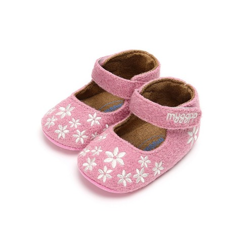 Newborn Baby Shoes First Walk Baby The First Walker Shoes Baby Girl Embroidery Print Princess Toddler Shoes Multan