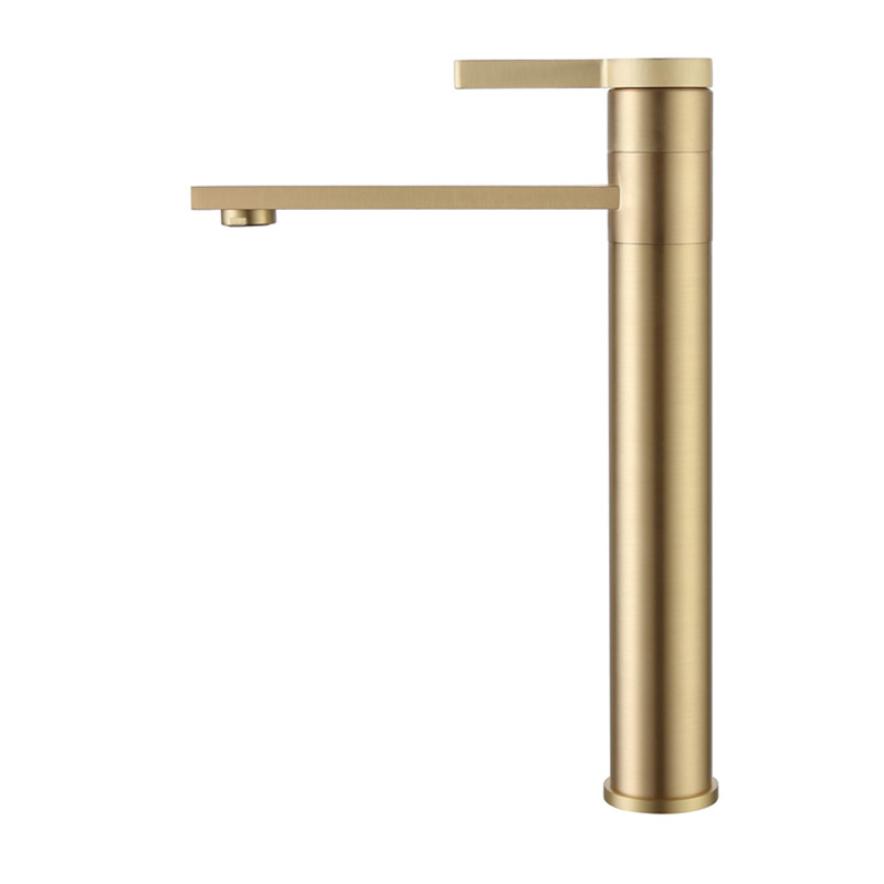 All copper hot and cold basin faucet water tap golden table washbasin bathroom household toilet splash proof faucets single hole lteng basin faucet full copper black faucet hot and cold washbasin single hole under counter bathroom vanity water tap