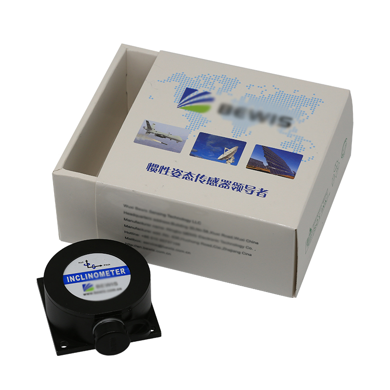 BW-VG225 Dual Axis Inclinometer Tilt Angle Sensor Dynamic Pitch / Roll Accuracy 1 / Static 0.1 Degree output Output: CAN round