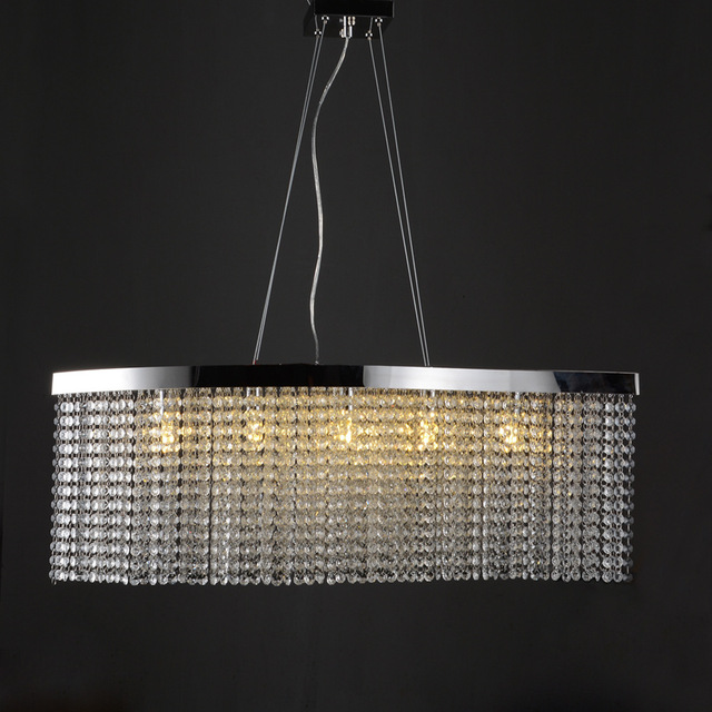 Luxury stainless steel chandelier led lamps vertical crystal luxury stainless steel chandelier led lamps vertical crystal chandeliers led lighting led g9 lustre light pendant mozeypictures Gallery