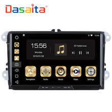Dasaita 9″ Android 8.0 Car GPS Radio Player for Seat Leon Alhambra Altea Toledo with Octa Core 4GB+32GB Auto Stereo Multimedia