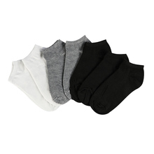 7Pair Women's Socks Short Female Low Cut Ankle Socks For Women Ladies White Black Socks Short Chaussette Sox