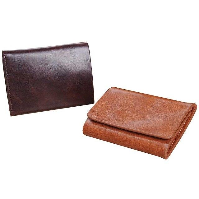 Компактный кошелек на магнитной застежке