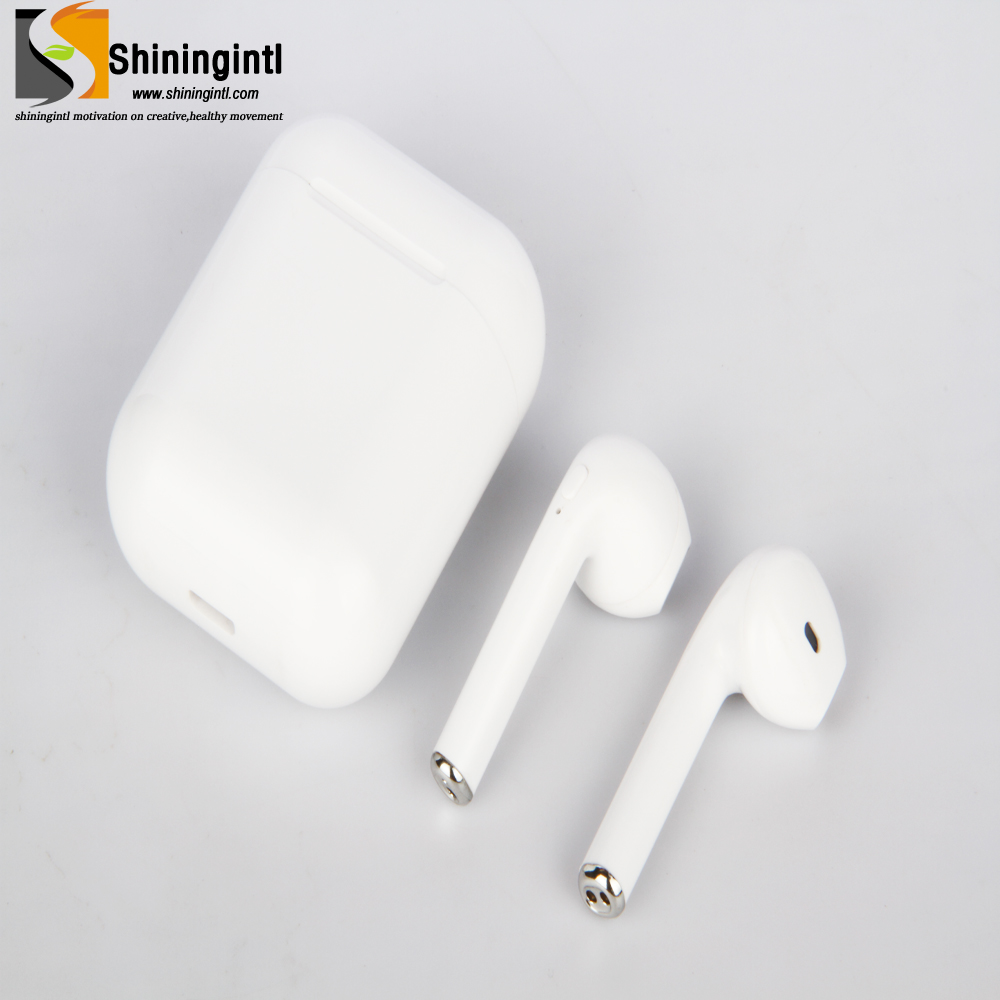 Smochm Wireless Headset Bluetooth Earphones i8x True Stereo Mini In-Ear Earbuds Headsets For Apple Android Phones