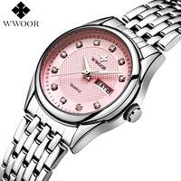 Top Brand Luxury Waterproof Women Watches Women Quartz Hours Date Clock Ladies Casual Wrist Watch Female