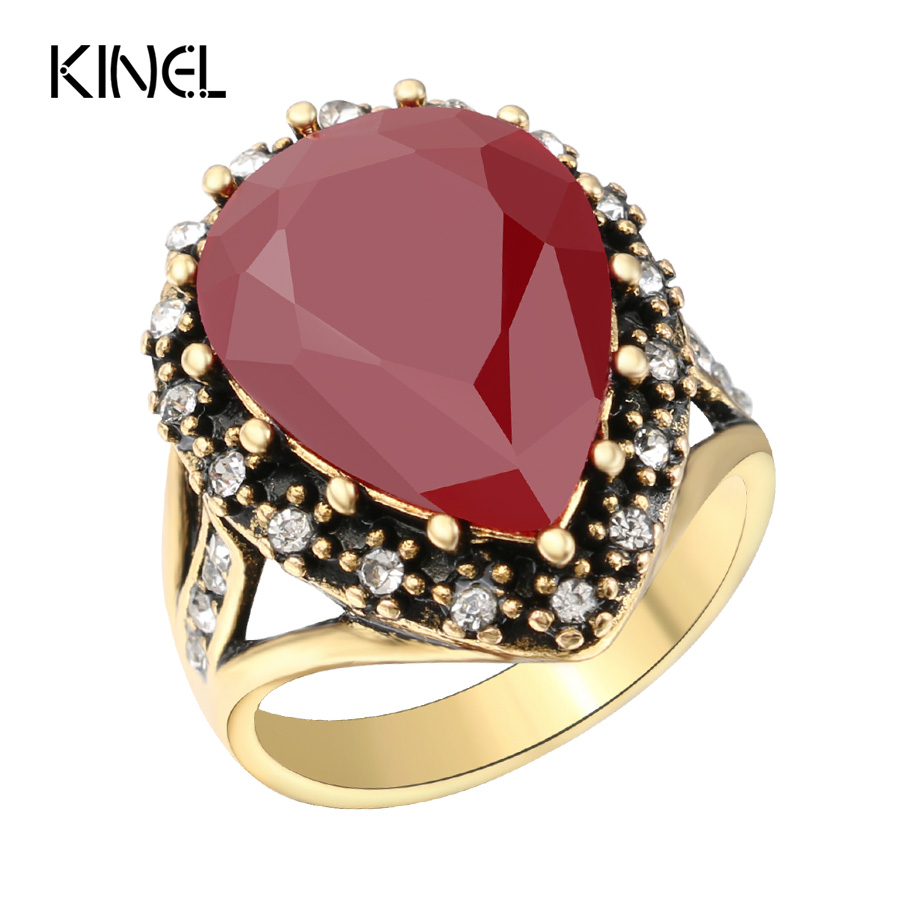 Buy vintage jewelry wholesale crystal Vintage style fashion rings