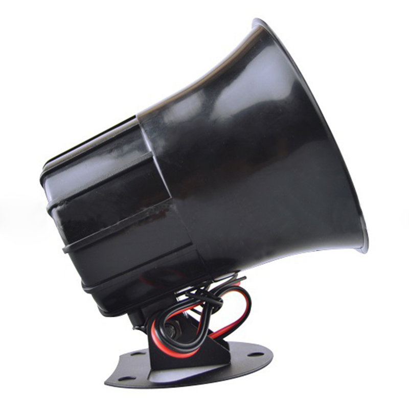 Outdoor DC 12V Wired Loud Alarm Siren Horn With Bracket For Home Security Protection System WIF66