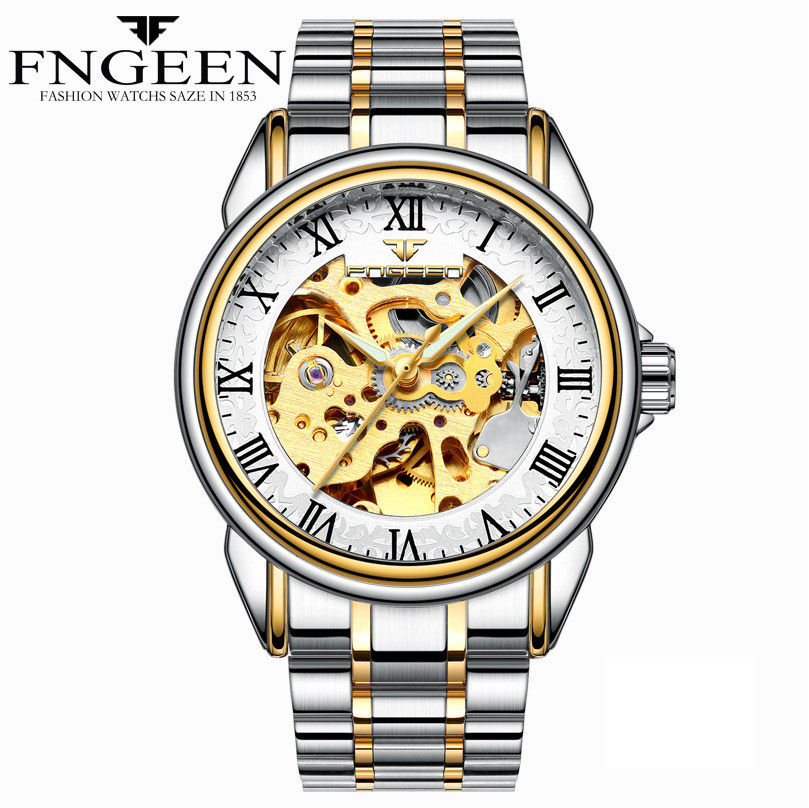 HTB1EHkFmTnI8KJjy0Ffq6AdoVXax - Men Watches Automatic Mechanical Watch Male Tourbillon Clock Gold Fashion Skeleton Watch Top Brand Wristwatch Relogio Masculino