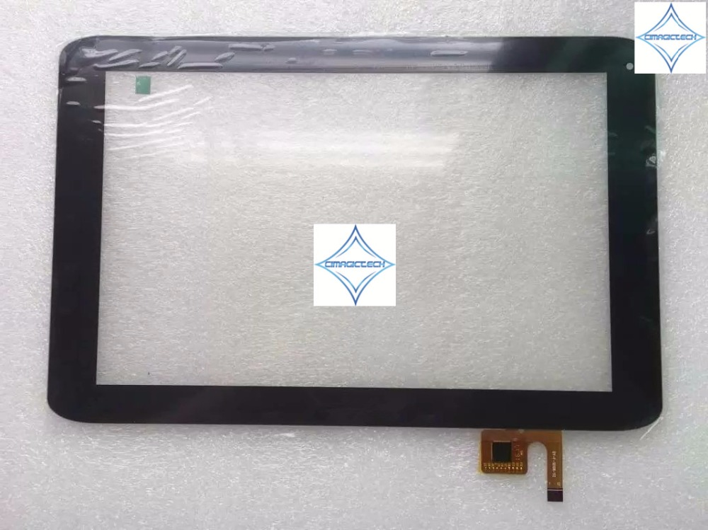new 10.1'' inch tablet Touch Screen Digitizer capacitive glass panel DY-F-10108-V2 DY-F-10108 12PIN with ic for MEDION LIFETAB  high quality screen panel for medion lifetab e10320 md98641 touch screen dy f 10108 v2 digitizer glass free shipping