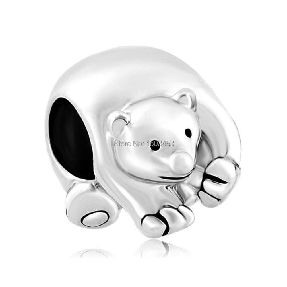Polar Bear Charm Fit For Pandora Bracelet For Pandora Bracelet For Pandoracharms For Pandora Aliexpress