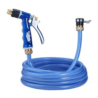 Adjustable Water Spray Gun With Water Pipe Car Washing Tool Accessories