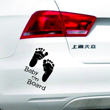 Baby on board Car Stickers 3D Decal Motorcycle Scratch  Waterproof auto stickers and decals