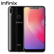 "Global Version Infinix HOT S3X SmartPhone Dual Rear Camera AI Selfie 6.2"" Full View Display Fingerprint cell phone Android 8.1"