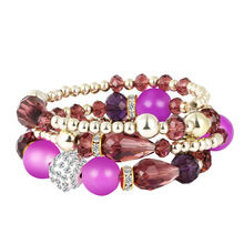 Bohemian Geometric Multilayer Charm Bracelets for Women Beads & Bangles Statement Party Ethnic Jewelry Gift