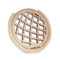 Homeland гитара деревянный soundhole звук крышки отверстия блок обратной связи клена для 40
