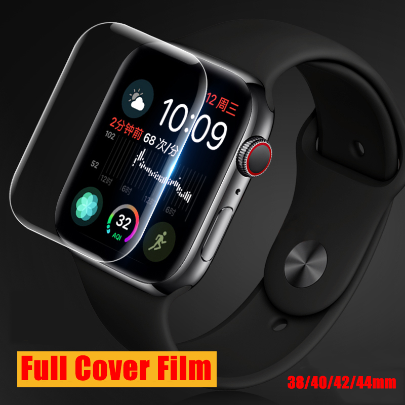 Full Protective Soft Film For Apple Iwatch Screen Protector Band 4 2 1 42mm 40mm 44mm 38mm I Watch 3 42 38 Mm Not Tempered Glass