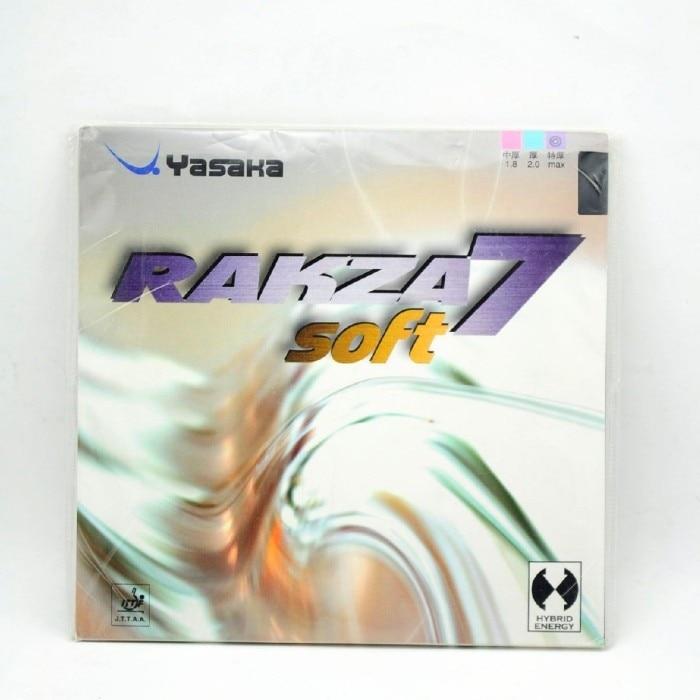 Yasaka Original RAKZA 7 SOFT RK7 Pimples In Table Tennis Rubber RAKZA7 SOFT Pips In Ping