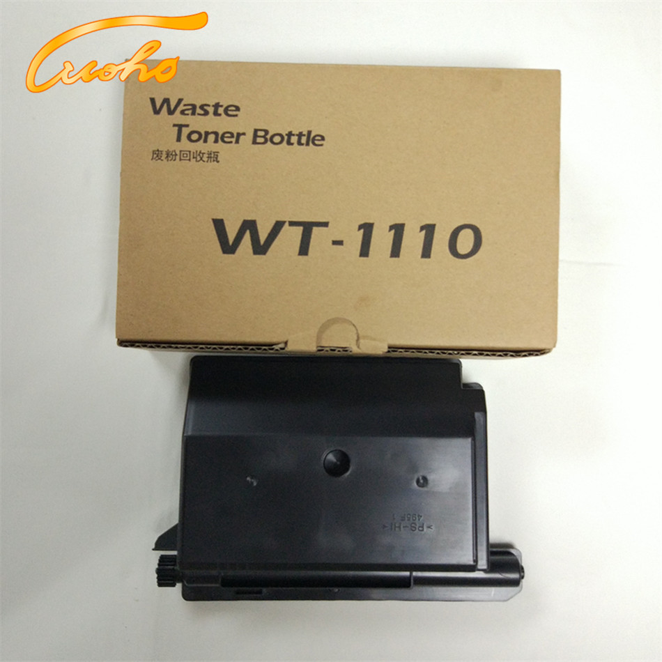4 x WT-1110 Waste Toner Bottle for <font><b>Kyocera</b></font> <font><b>FS</b></font> 1020 1120 <font><b>1125</b></font> 1040 1060 printer part FS1020 FS1120 FS1125 waste toner container image