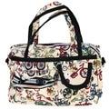 Moda mujeres Holiday estilo impermeable hombro de Crossbody bolso Tote lavables grandes bolsas de equipaje del bolso #641894